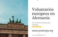Voluntarios Alemania en varios proyectos