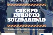 Cuerpo Europeo Solidaridad: 40 voluntari@s de España