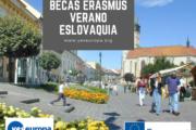 Intercambio Erasmus verano en Eslovaquia
