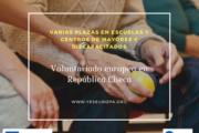 Plazas voluntariado europeo en República Checa en escuelas, centros discapacitados y de mayores